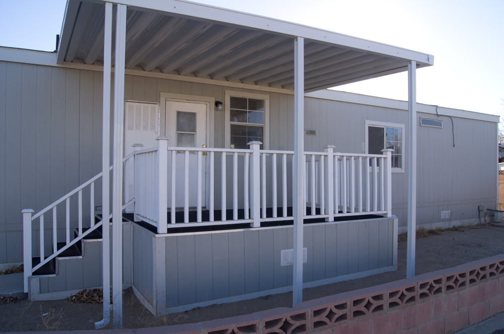 Pictures Of Front Porches On A Double Wide Mobile Home