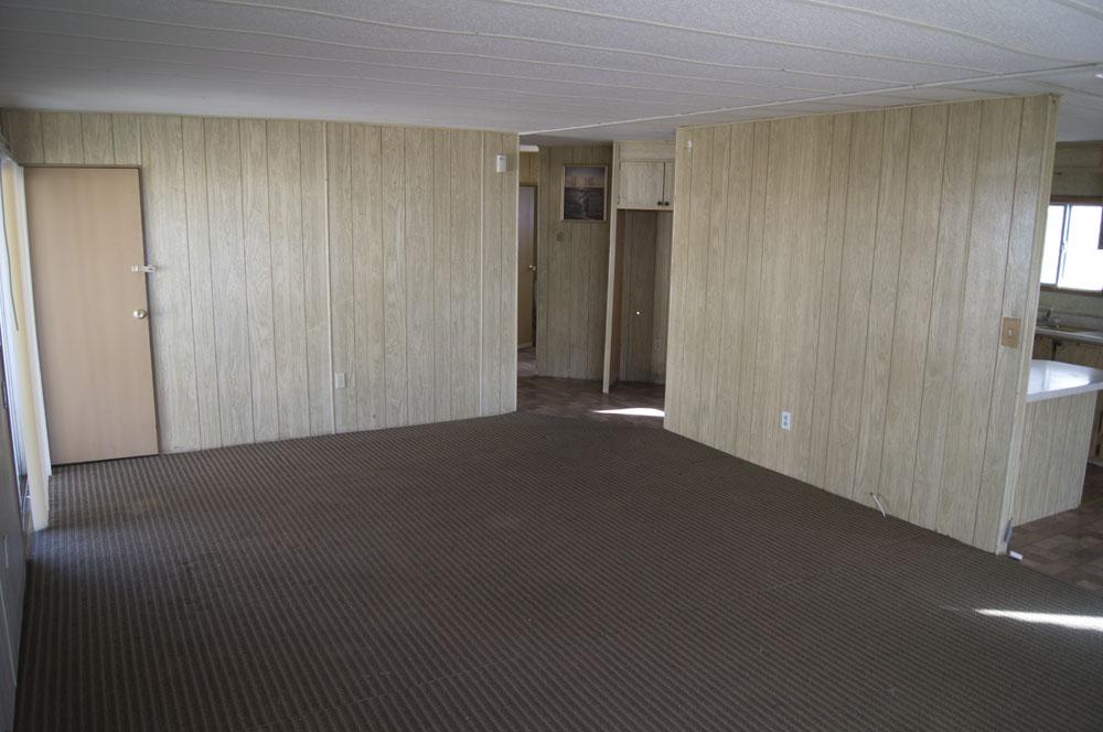 bedroom 2 bathroom double wide mobile home in ridgecrest space