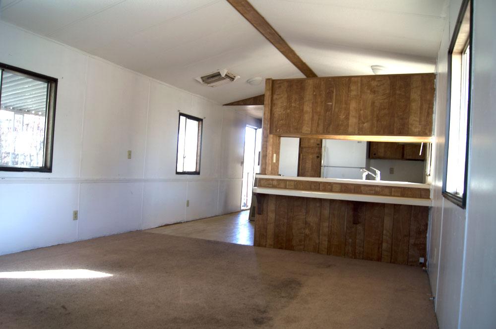 bedroom 2 bath mobile home in ridgecrest space 24